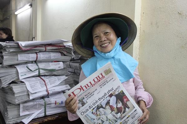 Bà Trần Thị Thanh Tâm - Chi hội phó Chi hội phụ nữ số 4 phường Phan Chu Trinh, quận Hoàn Kiếm