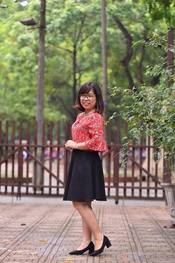 Chị Chu Thanh Loan - Chủ tịch Hội LHPN phường Ngọc Hà, quận Ba Đình