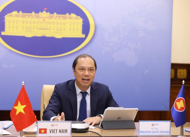 Trưởng SOM ASEAN Việt Nam - Thứ trưởng Nguyễn Quốc Dũng