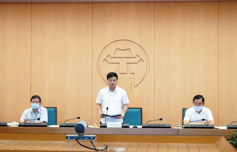 Phó Chủ tịch UBND TP Ngô Văn Quý  chỉ đạo