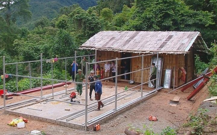 Quá trình xây dựng nhà