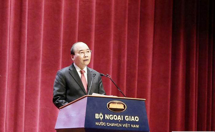 Thủ tướng Chính phủ Nguyễn Xuân Phúc phát biểu