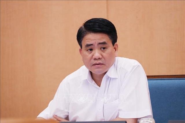 Ông Nguyễn Đức Chung -Nguyên Phó Bí thư Thành ủy, Chủ tịch UBND Thành phố Hà Nội bị khởi tố điều tra về tội