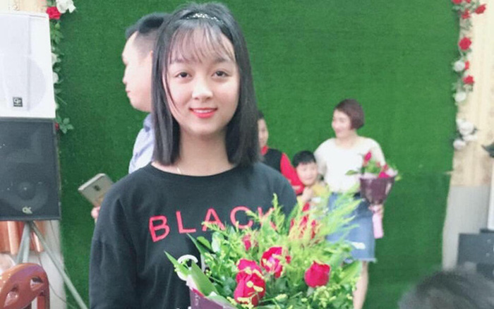 Nguyễn Thị Hương Lan (17 tuổi) trước khi mất tích