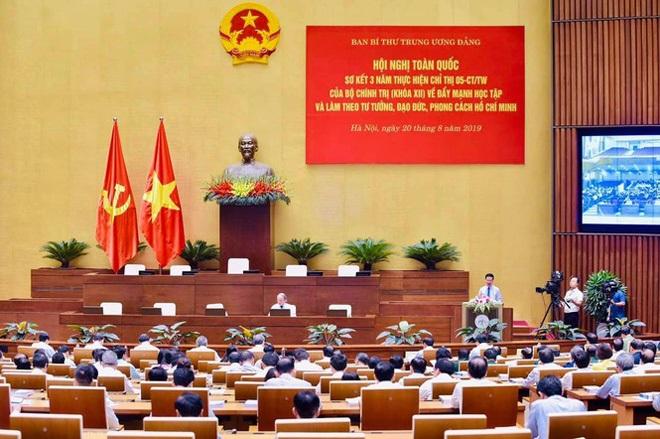 Hội nghị toàn quốc sơ kết 3 năm thực hiện Chỉ thị 05 của Bộ Chính trị về học tập, làm theo tư tưởng, đạo đức, phong cách Hồ Chí Minh