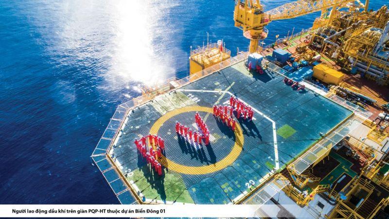 Khai thác dầu khí 8 tháng đầu năm vượt 8% so kế hoạch.