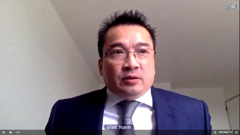 Đại sứ Phạm Hải Anh, Phó Trưởng phái đoàn Thường trực Việt Nam tại LHQ