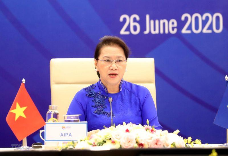Chủ tịch Quốc hội Nguyễn Thị Kim Ngân,  Chủ tịch AIPA41