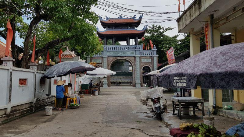 Xã Hồng Dương, huyện Thanh Oai đang xây dựng nông thôn mới nâng cao
