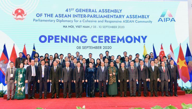 Các đại biểu tham gia Đại hội đồng tại Hà Nội