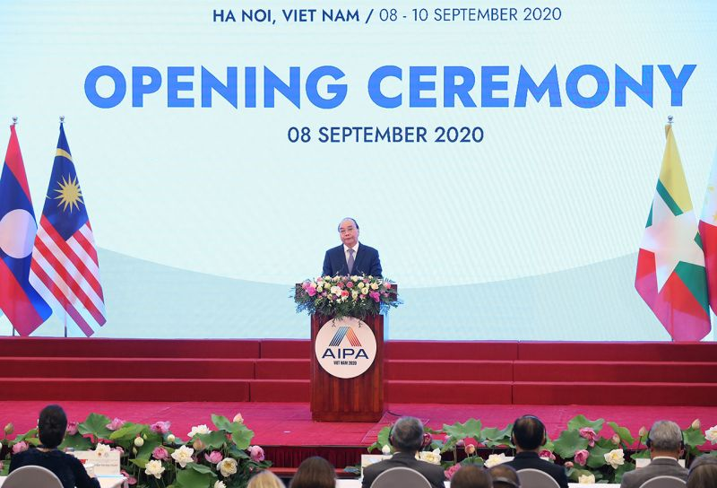 Thủ tướng Nguyễn Xuân Phúc, Chủ tịch ASEAN 2020 phát biểu
