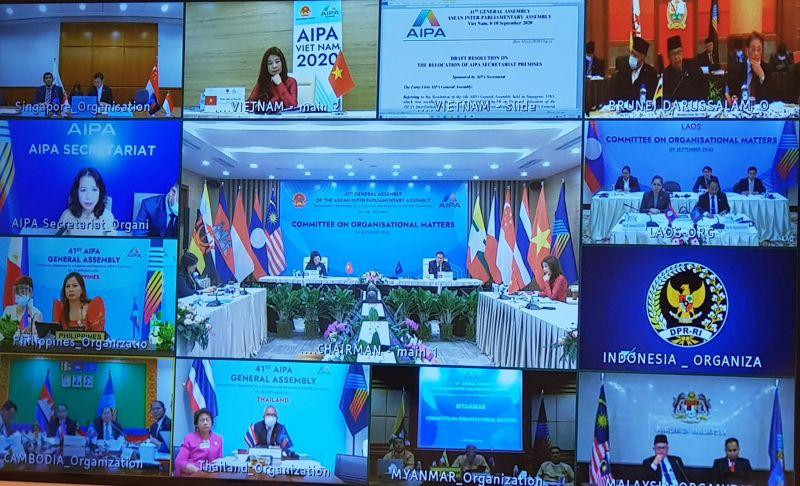 Phiên họp của Ủy ban Tổ chức