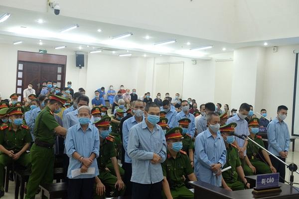 29 bị cáo tại phiên tòa sơ thẩm