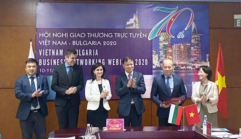 Cục Xúc tiến thương mại (VIETRADE) và Cục Xúc tiến Doanh nghiệp vừa và nhỏ Bulgaria đã ký kết thỏa thuận hợp tác