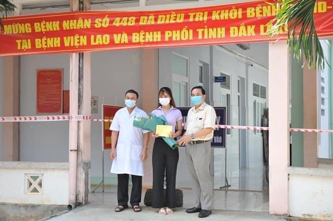 BN được công bố chữa khỏi tại Đắk Lắk.