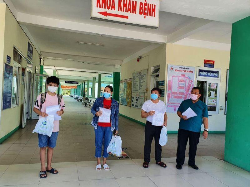 Các BN được công bố chữa khỏi tại Đà Nẵng.