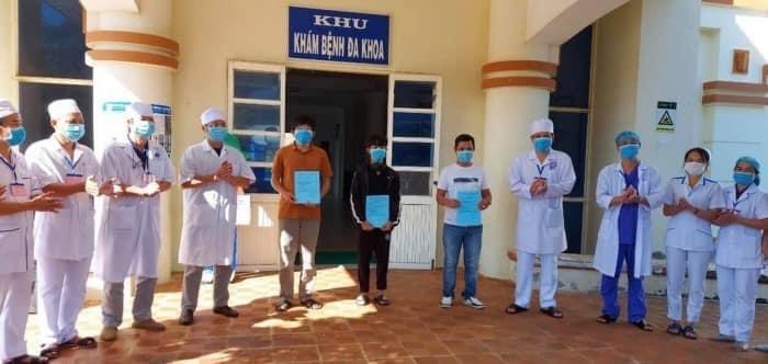 3 bệnh nhân được công bố khỏi bệnh tại Quảng Ngãi.