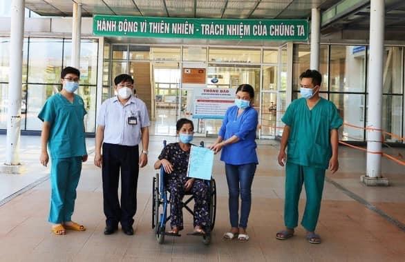 Bệnh nhân được công bố khỏi bệnh tại Quảng Ngãi.