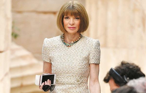 Bà chủ Vogue đã gắn bó với mái tóc bob được hơn 50 năm kể từ khi mới 17 tuổi