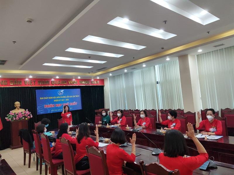 Phiên họp thứ I, BCH Hội LHPN phường