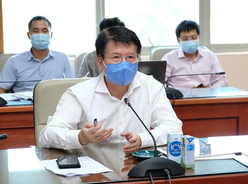 Thứ trưởng Trương Quốc Cường phát biểu ý kiến