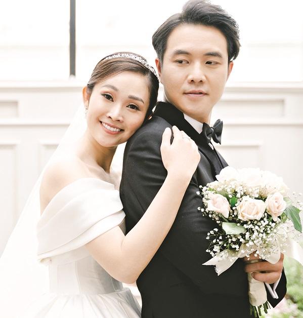 MC Thùy Linh và chồng - diễn viên Phùng Đức Hiếu