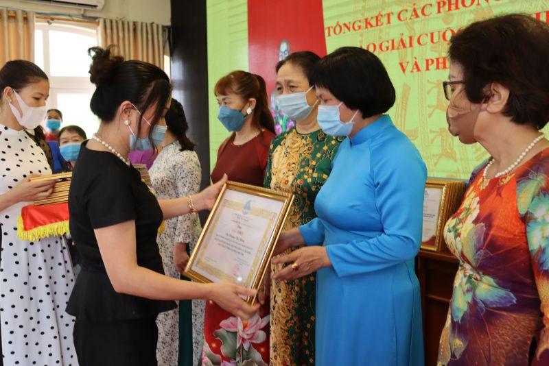 Các cá nhân, tập thể được khen thưởng trong phong trào thi đua yêu nước giai đoạn 2016-2021