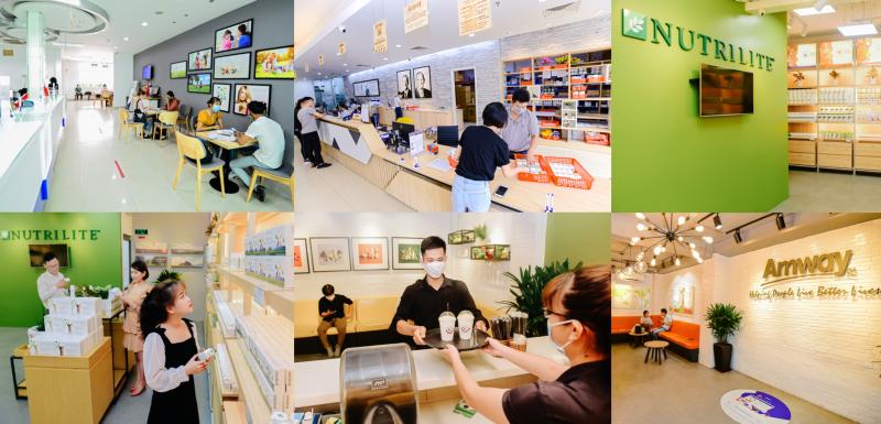 Cộng đồng người tiêu dùng trẻ của Amway thu hút sự tham gia của đông đảo Nhà phân phối và người tiêu dùng