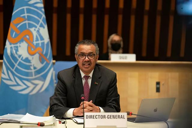 Tổng giám đốc của Tổ chức y tế thế giới Tedros Adhanom Ghebreyesus.