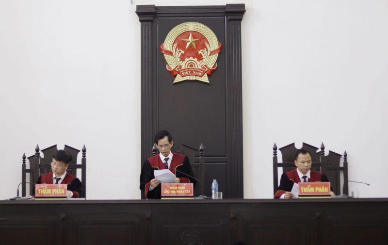 HĐXX phúc thẩm tuyên án