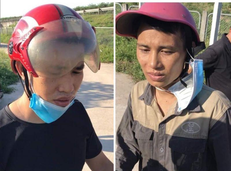 Hai đối tượng 9X bị Công an huyện Gia Lâm bắt giữ về tội tàng trữ trái phép chất ma túy
