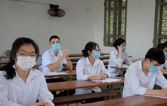 Trước diễn biến của dịch Covid-19, Hà Nội đã sẵn sàng nhiều phương án ứng phó để đảm bảo an toàn cho thí sinh và lực lượng tham gia tổ chức kỳ thi (ảnh minh họa)