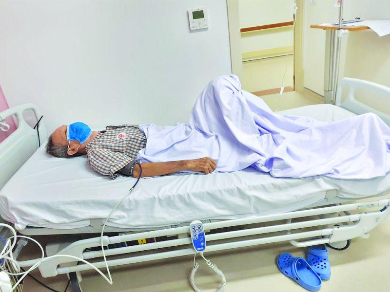 Bệnh nhân T gặp biến chứng nặng, suy gan, thận được cấp cứu tại bệnh viện (NVCC)