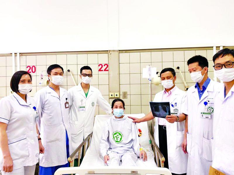 Bẹnh nhân suy kiệt do dùng thuốc giảm cân được bác sĩ bệnh viện Bạch Mai cứu chữa thành công