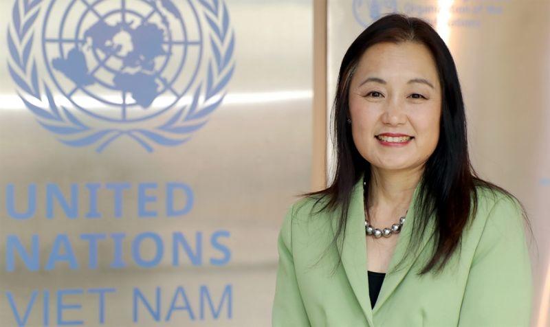 bà Naomi Kitahara, Trưởng đại diện UNFPA tại Việt Nam