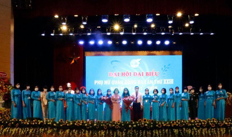 BCH Hội LHPN quận Đống Đa khóa XXIII ra mắt Đại hội