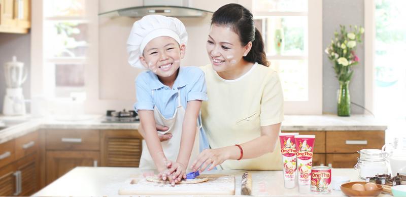 Sữa đặc có đường Ông Thọ gắn bó với các gian bếp của người Việt.
