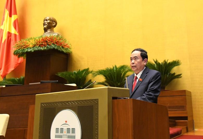 Ông Trần Thanh Mẫn, Ủy viên Bộ Chính trị, Phó Chủ tịch Thường trực Quốc hội khóa XIV, Phó Chủ tịch Thường trực Hội đồng Bầu cử quốc gia