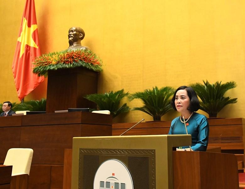 Bà Nguyễn Thị Thanh, Trưởng ban Công tác đại biểu của Ủy ban Thường vụ Quốc hội khóa XIV, Ủy viên Hội đồng Bầu cử quốc gia, Phó Trưởng Tiểu ban nhân sự Hội đồng Bầu cử quốc gia