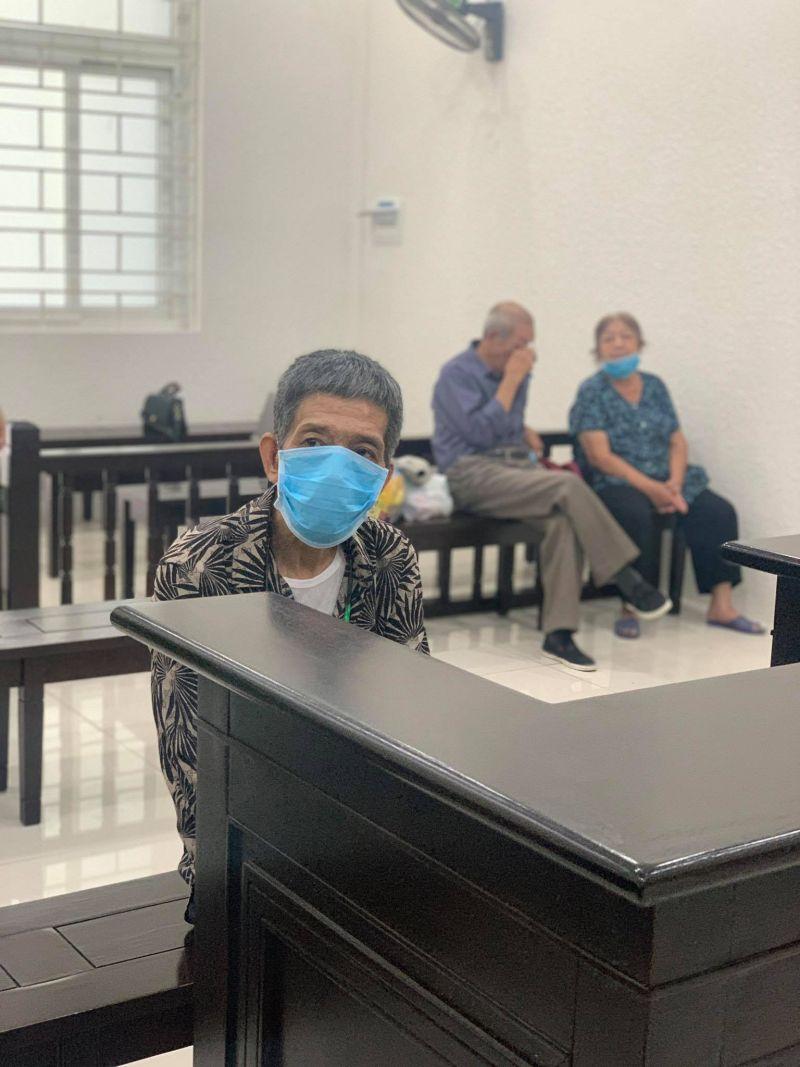 Bị cáo Phạm Anh Dũng tại tòa
