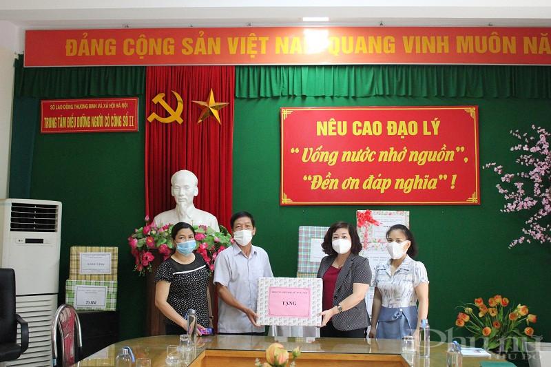 Đoàn công tác Hội LHPN Hà Nội