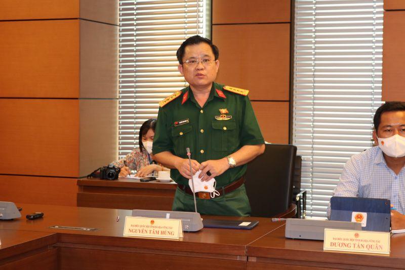 Đại biểu Nguyễn Tâm Hùng (Đoàn Bà Rịa - Vũng Tàu)