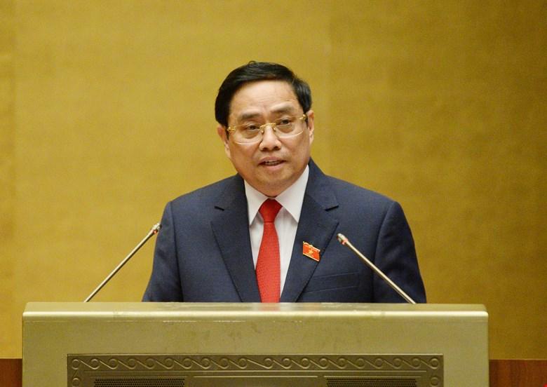 Thủ tướng Chính phủ Phạm Minh Chính phát biểu