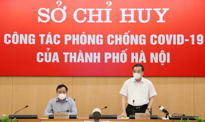 Chủ tịch UBND Thành phố Hà Nội trăn trở vì F0 vẫn còn tiềm ẩn