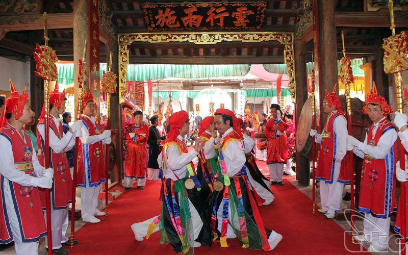 Lễ hội làng Triều Khúc Hà Nội