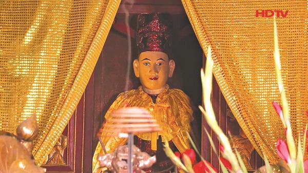 Tượng thờ Ngài Linh Lang