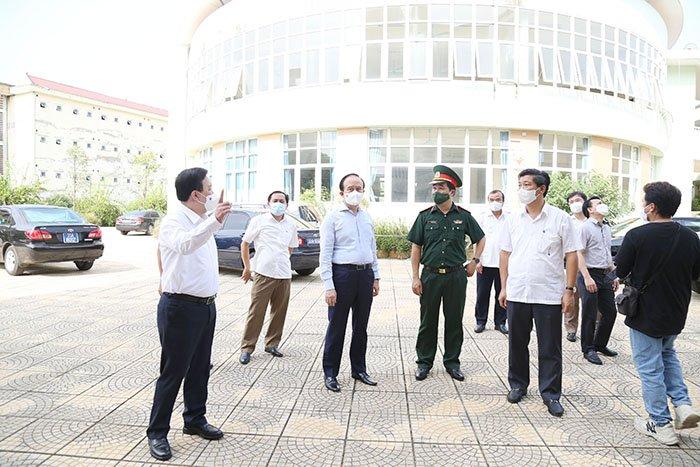 Đối với khu cách ly tập trung, huyện phải phối hợp chặt chẽ với Bộ Tư lệnh Thủ đô, Sở Y tế để triển khai đảm bảo an toàn, tuyệt đối không để lây nhiễm chéo