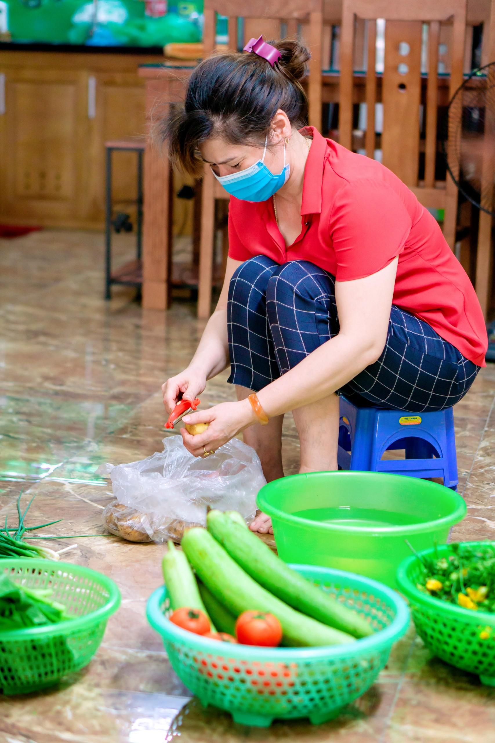 Thực phẩm luôn được đảm bảo sạch sẽ, an toàn