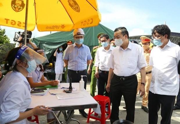 Chủ tịch UBND kiểm tra công tác phòng chống dịch