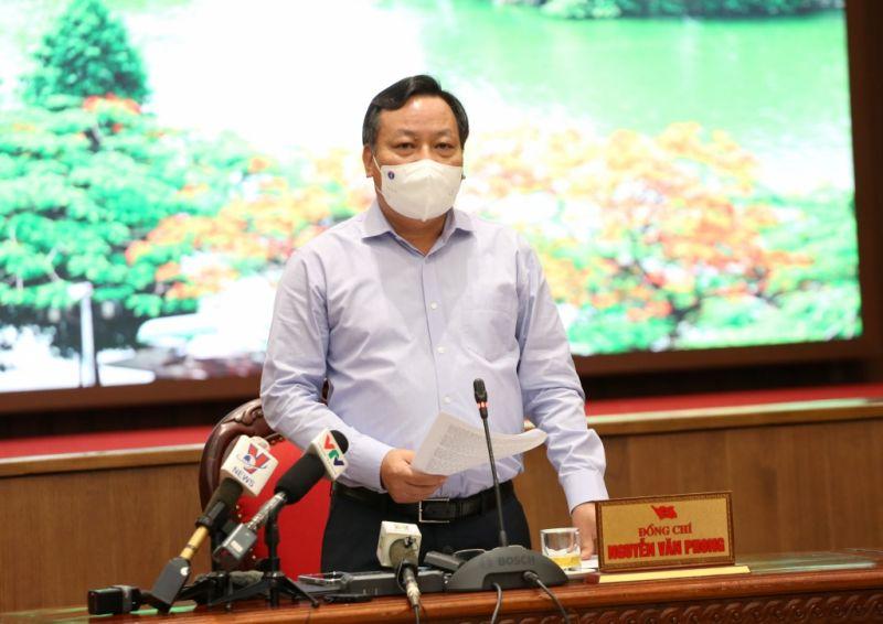Phó Bí thư Thành ủy Nguyễn Văn Phong nhấn mạnh tại cuộc họp báo